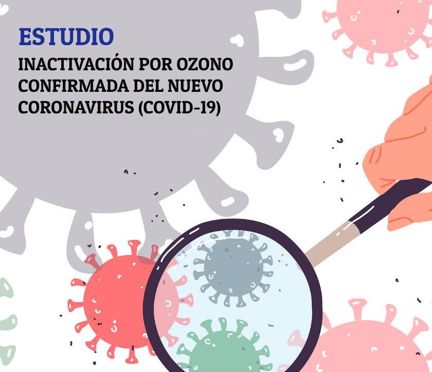 Inactivación por ozono confirmada del nuevo coronavirus (COVID-19)