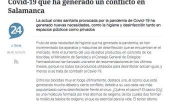 Caza de brujas emprendida contra el ozono - Noticia Diario Salamanca24horas.com